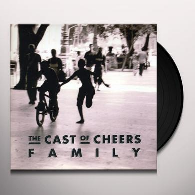 The Cast Of Cheers FAMILY Vinyl Record - UK Import