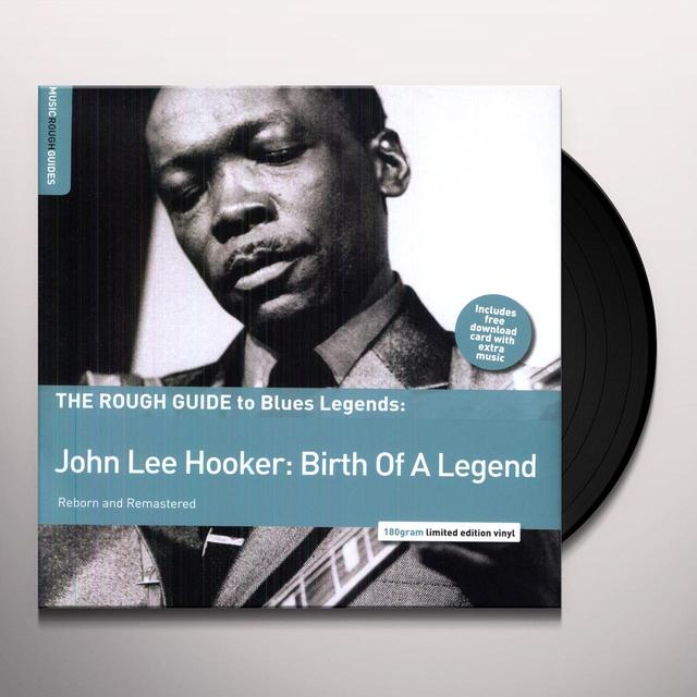 ROUGH GUIDE TO JOHN LEE HOOKER Vinyl Record - UK Import