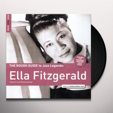 ROUGH GUIDE TO ELLA FITZGERALD Vinyl Record - UK Import