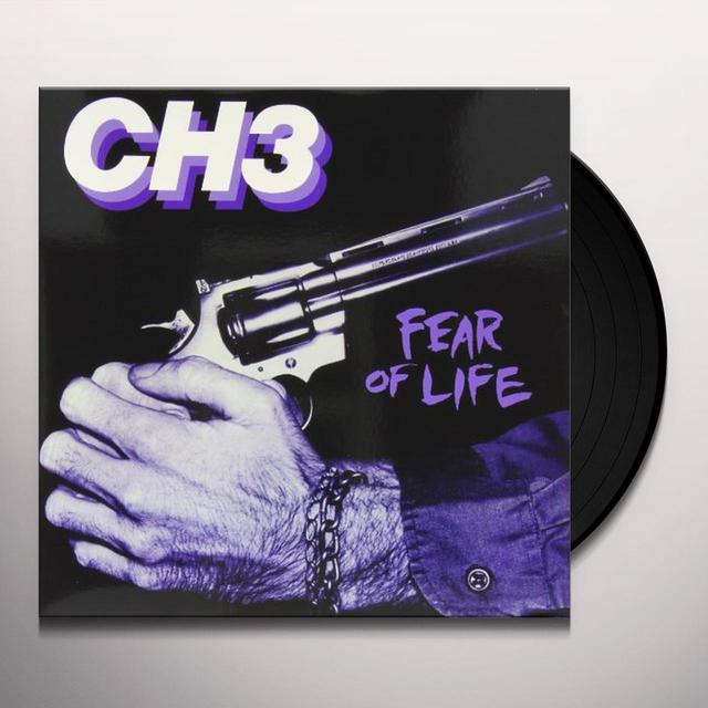 Channel Three FEAR OF LIFE Vinyl Record - Limited Edition