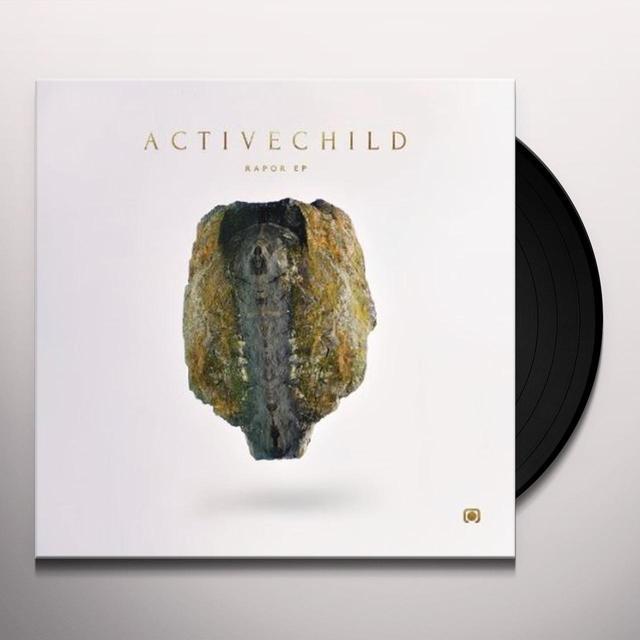 Active Child RAPOR  (EP) Vinyl Record - 10 Inch Single
