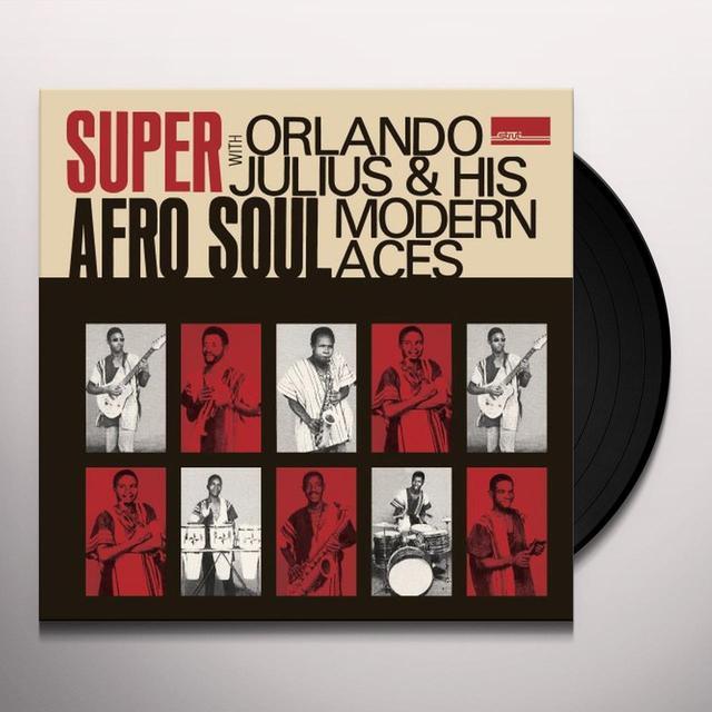 Orlando Julius SUPER AFRO SOUL Vinyl Record