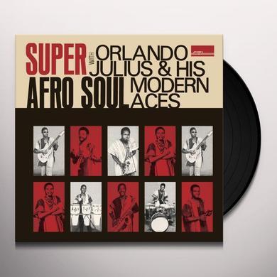 Orlando Julius SUPER AFRO SOUL Vinyl Record - w/CD