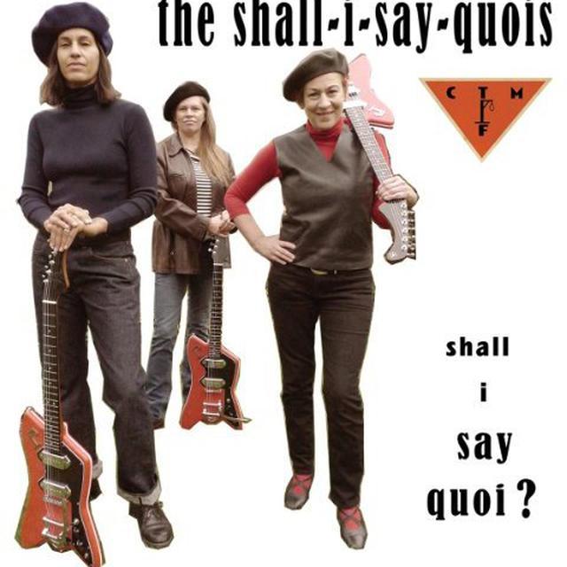 Shall I Say Quoi's SHALL I SAY QUOI Vinyl Record - 10 Inch Single