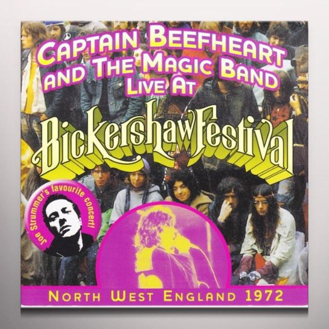 Don Vliet LIVE AT BICKERSHAW 1972 Vinyl Record - Colored Vinyl, 180 Gram Pressing