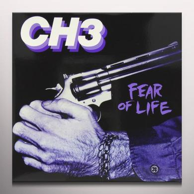 Channel Three FEAR OF LIFE Vinyl Record - Colored Vinyl, Limited Edition