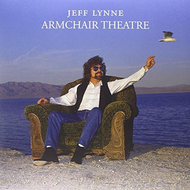 Jeff Lynne ARMCHAIR THEATRE Vinyl Record - Colored Vinyl, Limited Edition