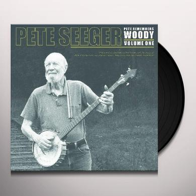 Pete Seeger PETE REMEMBERS WOODY PT 1 Vinyl Record - Limited Edition