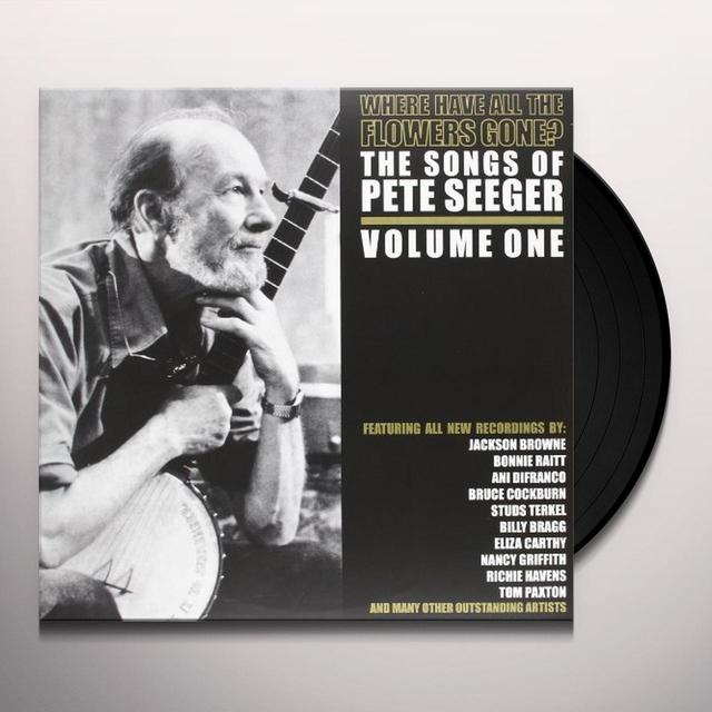 Pete Seeger WHERE HAVE ALL THE FLOWERS GONE PT 1 Vinyl Record - Limited Edition