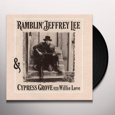 Ramblin Jeffrey Lee RAMBLIN' JEFFREY LEE & CYPRESS GROVE WITH WILLIE Vinyl Record