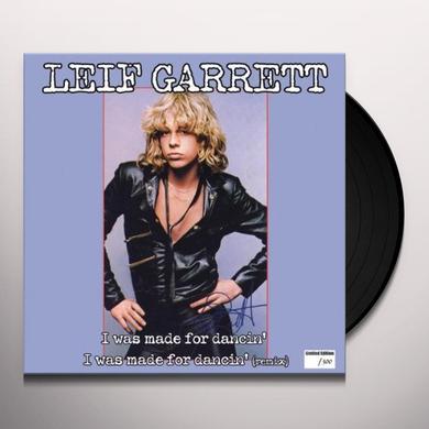 Leif Garrett I WAS MADE FOR DANCIN Vinyl Record