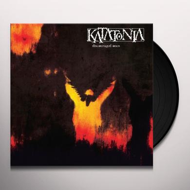 Katatonia DISCOURAGED ONES Vinyl Record