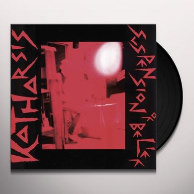Katharsis SUSPENSION OF BELIEF Vinyl Record