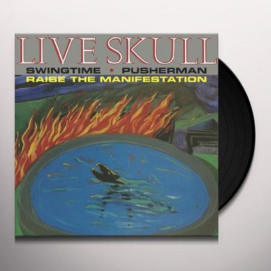 Live Skull PUSHERMAN Vinyl Record