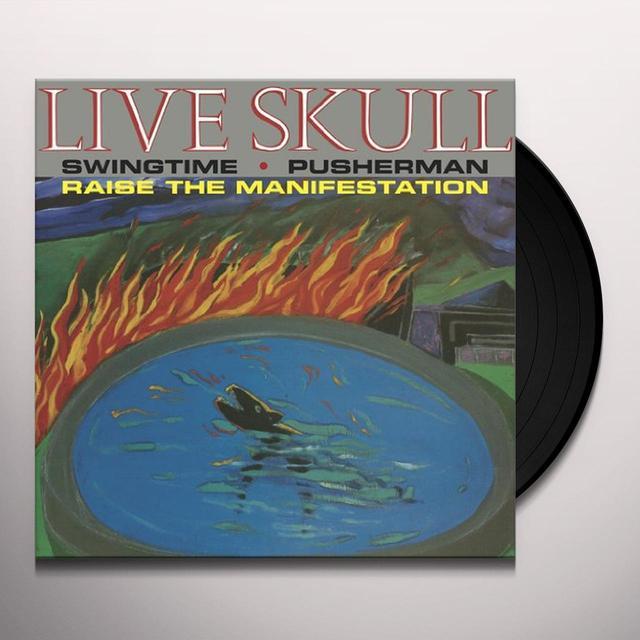 Live Skull PUSHERMAN Vinyl Record