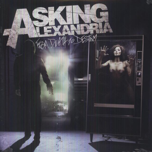 Asking Alexandria FROM DEATH TO DESTINY (YELLOW VINYL) Vinyl Record - Colored Vinyl