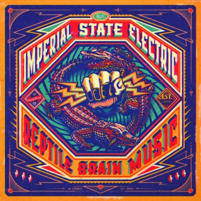 Imperial State Electric REPTILE BRAIN MUSIC (Vinyl)