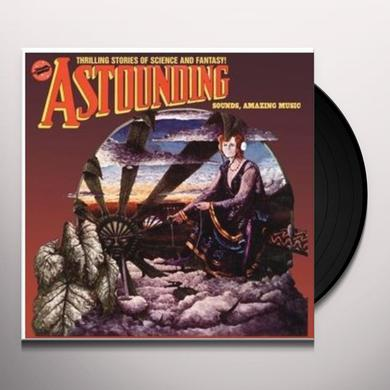 Hawkwind ASTOUNDING SOUNDS AMAZING MUSIC Vinyl Record - UK Import