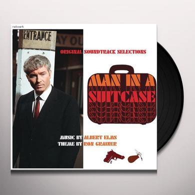 Albert Elms / Ron Grainer MAN IN A SUITCASE Vinyl Record