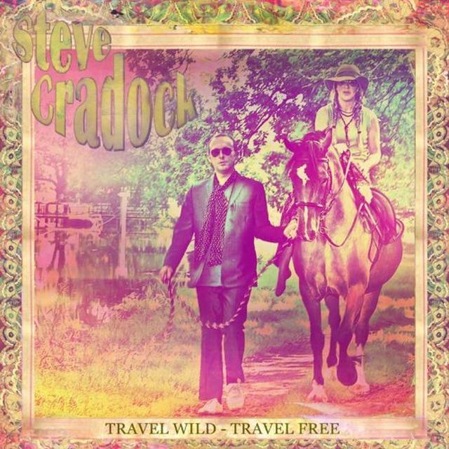 Steve Cradock TRAVEL WILD - TRAVEL FREE Vinyl Record