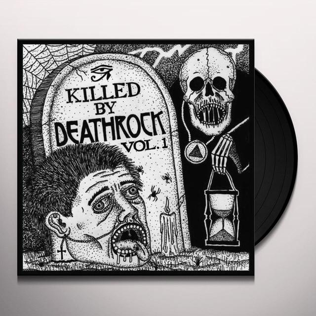 KILLED BY DEATHROCK 1 / VARIOUS Vinyl Record