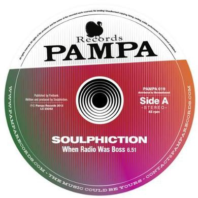 Soulphiction WHEN RADIO WAS BOSS Vinyl Record