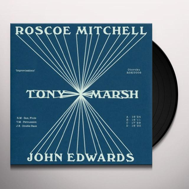 Roscoe Mitchell / Tony Marsh / John Edwards IMPROVISATIONS Vinyl Record