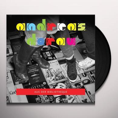 Andreas Dorau AUS DER BIBLIOTHEQUE Vinyl Record - w/CD