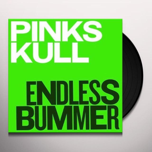 Pink Skull ENDLESS BUMMER Vinyl Record