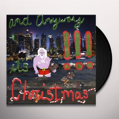!!! & ANYWAY IT'S CHRISTMAS Vinyl Record