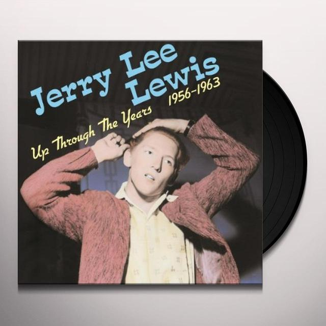 Jerry Lee Lewis UP THROUGH THE YEARS 1956-1963 Vinyl Record - 180 Gram Pressing
