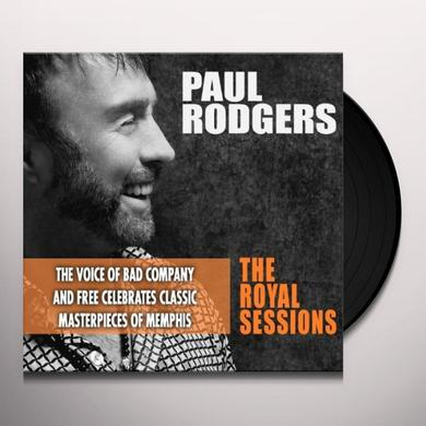 Paul Rodgers ROYAL SESSIONS Vinyl Record