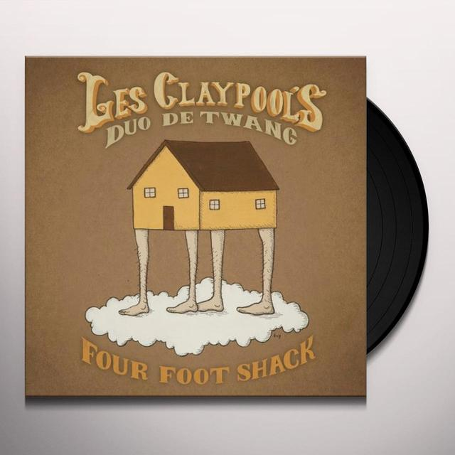 Les Claypool'S Duo De Twang FOUR FOOT SHACK Vinyl Record