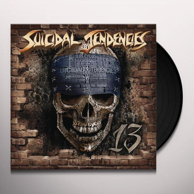 Suicidal Tendencies 13 Vinyl Record - Picture Disc