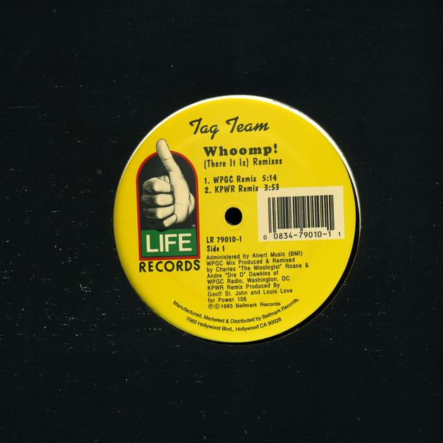 Tag Team WHOOMP-THERE IT IS Vinyl Record