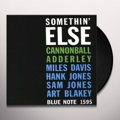 Cannonball Adderly SOMETHIN ELSE Vinyl Record