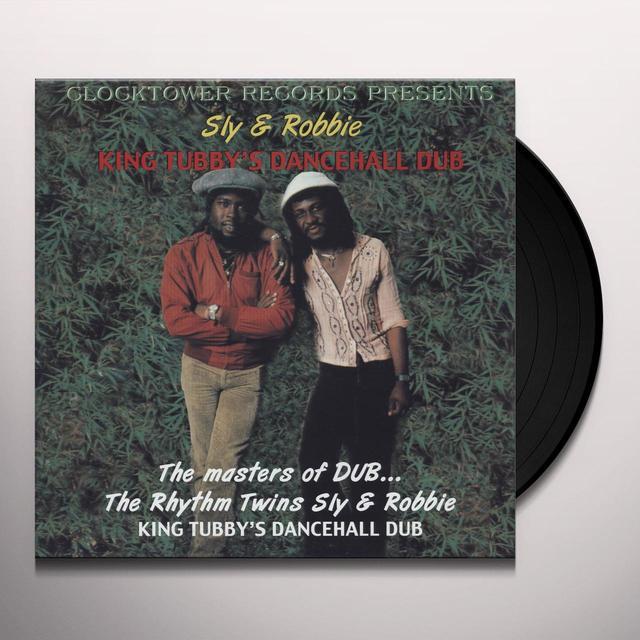 SLY & ROBBIE KING TUBBY'S DANCEHALL DUB Vinyl Record