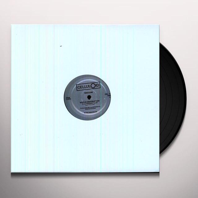 Time Zone WORLD DESTRUCTION Vinyl Record