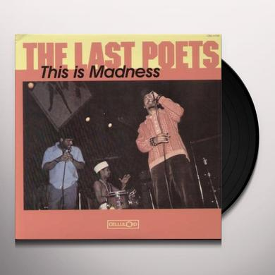 Last Poets THIS IS MADNESS Vinyl Record