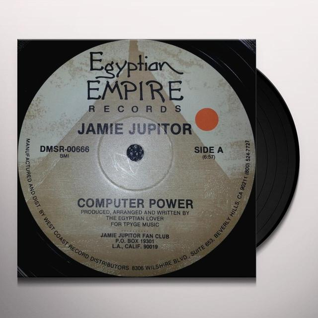 Jamie Jupitor COMPUTER POWER Vinyl Record