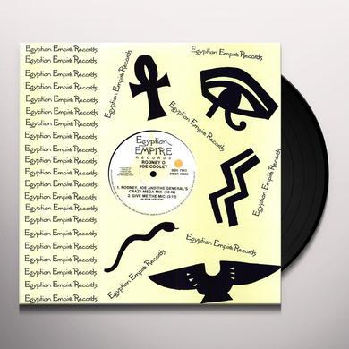 Rodney O & Joe Cooley GIVE ME THE MIC / MEGAMIX Vinyl Record