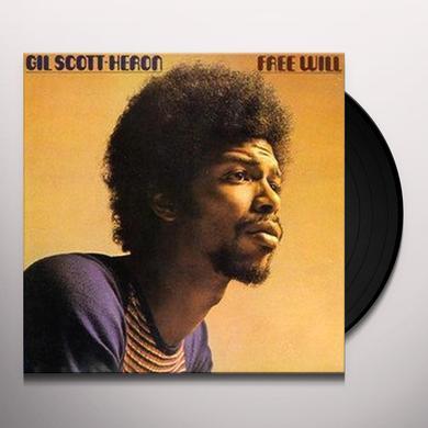 Gil Scott-Heron FREE WILL Vinyl Record