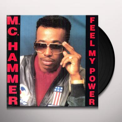 Mc Hammer FEEL MY POWER Vinyl Record