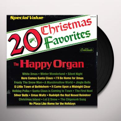 Happy Organ 20 CHRISTMAS FAVORITES Vinyl Record