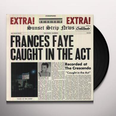 Frances Faye CAUGHT IN THE ACT Vinyl Record