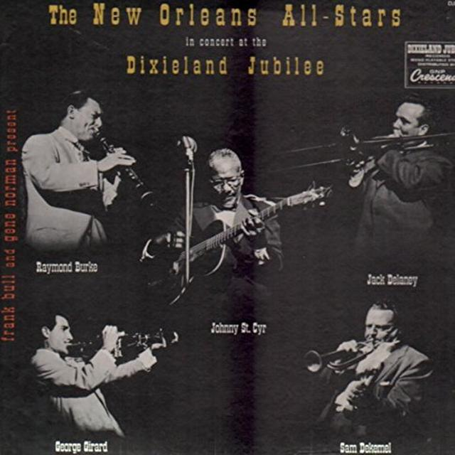 New Orleans All Star Band IN CONCERT Vinyl Record