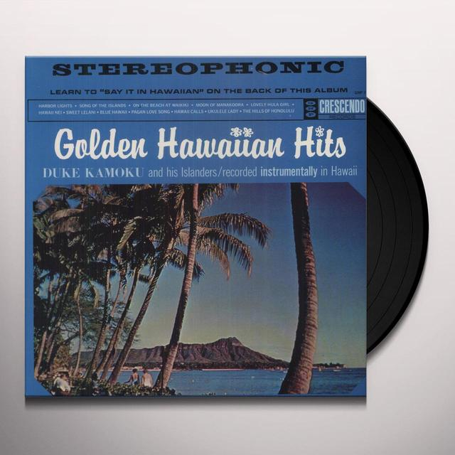Duke Kamoku GOLDEN HAWAIIAN HITS Vinyl Record