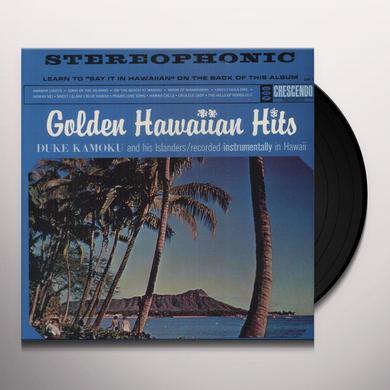 Duke Kamoku GOLDEN HAWAIIAN HITS Vinyl Record