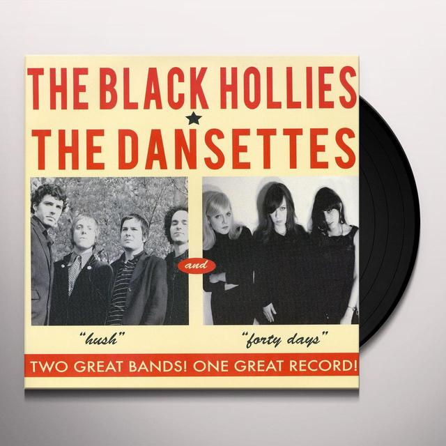 Black Hollies/Dansettes SPLIT Vinyl Record