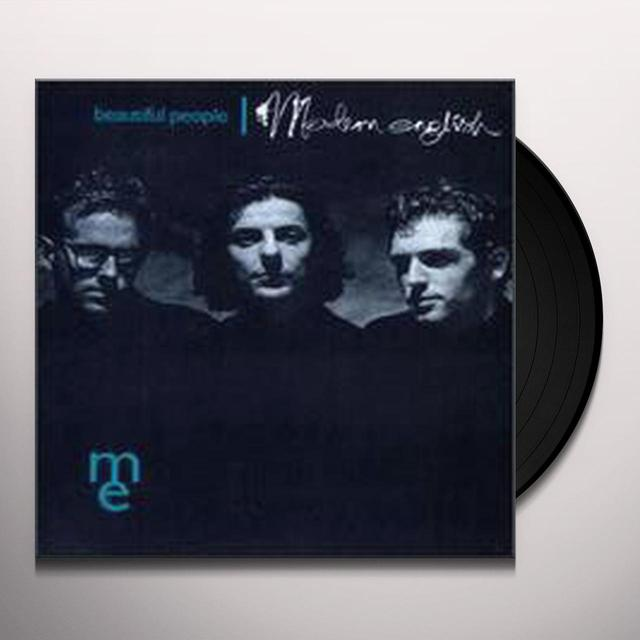Modern English BEAUTIFUL PEOPLE Vinyl Record